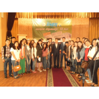"Serikbay Bisekeev's lecture ""Formula for success"" was held In Atyrau (photo report)"